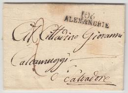 LAC 106 ALEXANDRIE - Pr St SALVADOR - TB - Postmark Collection (Covers)