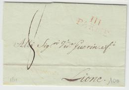 LSC 111 PARME (Rge) - 1811 - Pr Lione - TB - Postmark Collection (Covers)