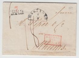 LAC N°60 - Bavière Par Forbach Rge + CBR3 + Wurzburg + Taxe Manus. 18 - TB - Postmark Collection (Covers)
