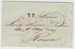 LSC N°995 - Prusse Forbach 1 - 31/5/41 Rge + 4 A.E.D. Rge + P.P. Noir + Càd Saarbruck - TB - Postmark Collection (Covers)