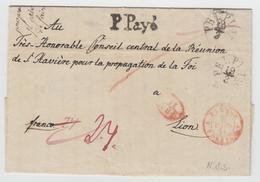 LAC N°996 - Prusse Forbach 2 - 18/3/44 Rge + 11 A.E.D + P. Payé + Taxe - Pli De Berlin - B/TB - Postmark Collection (Covers)