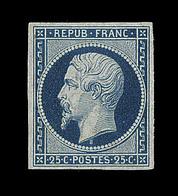 (*) Mau N°10d - Bleu S/verdâtre - TB - 1852 Louis-Napoleon