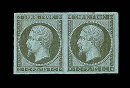 ** N°11 - Paire - TB - 1853-1860 Napoleon III