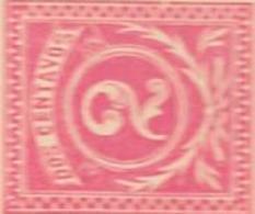 EL SALVADOR ENTERO POSTAL ENTIER POSTAUX INTERO POSTAL STATIONERY CIRCA AÑO 1895 DOS CENTAVOS ROSA ROJO - El Salvador