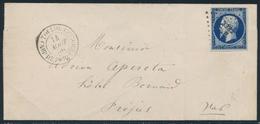 LSC N°14A - Obl. PC 3382 + Càd Camp De Porquerolles/Toulon - Pr Fréjus - FAUX - TB - Postmark Collection (Covers)