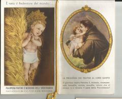 CALENDARIETTO PIA OPERA FRATINI S.ANTONIO ANNO1942 - Vecchi Documenti