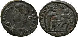 Maiorina De Constans 3,82 G (Thessalonica RIC VIII 118 A ) - 7. L'Empire Chrétien (307 à 363)