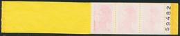 ** N°2376 C9B - Carnet Incomplet (3 Ex) - Impression Très Dépouillée - TB - Booklets