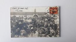 BERCK  (62)  Aéroplane Sur La Plage 1915 - Berck