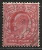 Gran Bretagna - 1 P. Usato/used - N. Stanley Gibbons 219 - N. Unificato 107 - 1902-1951 (Re)