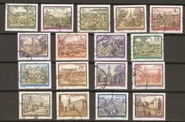 Autriche 1984/92 -  ABBAYES Et MONASTERES - Petit Lot  De 17 Timbres° - Vrac (max 999 Timbres)