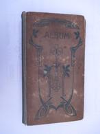 ALBUM CARTES POSTALES ANCIENNES Vide (V1801) Dim : 20 X 35 Cm (4 Vues) Contenance : +/- 480 Cp Art Déco / Art Nouveau - Materiali