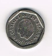 &-   SPANJE 200 PESETAS 1987  JUAN CARLOS - 200 Pesetas