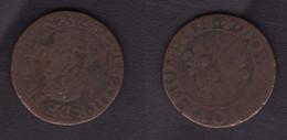 Double Tournois LOUIS XIII 1638 - 1610-1643 Louis XIII Le Juste