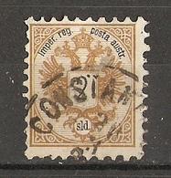 Autriche, Levant Autrichien 1883 - 2SLD - YT 8 - Cachet Constantinople - Charnière - Levant Autrichien