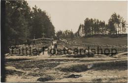 Foto Heldenfriedhof Des Res. Inf. Regt. Nr. 8 Bei Skrobowa Russland 1916 Bei Baranowitschi Weissrussland Landwehr IR 72 - Guerre 1914-18