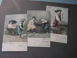 Kinder Serie 3 Alte Karten 1904 - Abbildungen