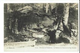 CPA - Carte Postale - France - Plombieres Les Bains-Le Rocher Et La Fontainedu Roy Stanislas -1904- S995 - Plombieres Les Bains