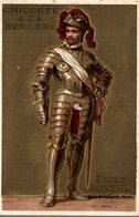 CHROMO CHICOREE A LA BERGERE EMILE BONZEL HAUBOURDIN  N° 68 HENRI II - Trade Cards