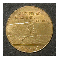 PERU CHILE - MEDAL CUESTION TACNA ARICA PLEBISCITO - 1925 - Cile