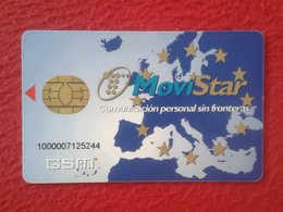 ANTIGUA TARJETA TELEFÓNICA PHONE CARD MOVISTAR SPAIN ESPAÑA ESPAGNE TARJETA PERSONAL EUROPA UNIÓN EUROPEA VER FOTO/S Y D - Espagne