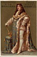 CHROMO CHICOREE A LA BERGERE EMILE BONZEL HAUBOURDIN  N° 83 LOUIS XIV - Autres