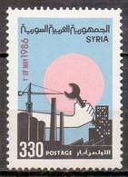 Syria 1986 Labour Day (1v) MNH (M-72) - Syria