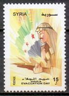 Syria 2003 Evacuation Day (1v) MNH (M-73) - Syria