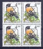 BELGIE * Buzin  PRE * Nr 825 P6a * Postfris Xx * HELDER PAPIER - WITTE GOM - 1985-.. Oiseaux (Buzin)