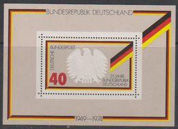 Germany 1974 25J. Bundesrepublik M/s ** Mnh (39409A) - [7] West-Duitsland
