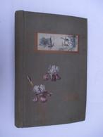 ALBUM CARTES POSTALES ANCIENNES Vide (V1801) Dim : 29 X 41 Cm (5 Vues) Contenance : +/- 720 Cp Art Déco / Art Nouveau - Matériel