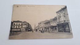 LA LOUVIERE  Place Des Martyrs Animée Oblit 1919 - La Louvière