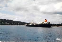FERRIES Ferry-boat : Trafic Sur La Seine - CPSM Dentelée Grand Format - Fährschiff Veerboot Transbordador - Fähren