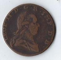 Monnaie Belgique 2 Liards 1792 TTB Marque D'atelier De Bruxelles - Belgique