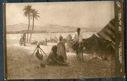 """CPA S/w AK Frankreich,France Salon De Paris 1913""""A.Delahogue-Sur La Route,auf Dem Weg """" 1 AK Blanco - Museen"""