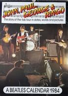 Calendrier Collector Beatles - Année 1984 - Calendars