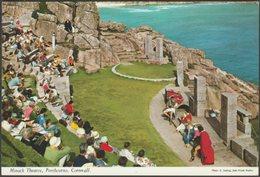 Minack Theatre, Porthcurno, Cornwall, C.1970s - John Hinde Postcard - England
