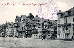 DE PANNE - LA PANNE : Dijk Centrum - Digue Centre - Cachet Du 2ème Régiment De Marins De La Marine Nationale - De Panne