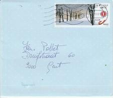 (D1150) Lettre Avec Timbre Personel Circulé - Belgien