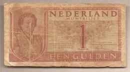 Paesi Bassi - Banconota Circolata Da 1 Fiorino P-72a.1 - 1949 - [2] 1815-… : Koninkrijk Der Verenigde Nederlanden