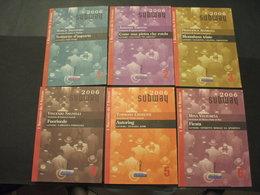 LIBRICINI DA LEGGERE - (2006 SUB WAY) - LA SERIE DAL N. 1 AL N. 13 - NUOVI E BEN CONSERVATI - Libros, Revistas, Cómics