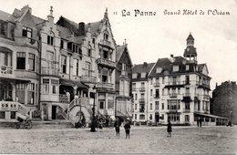 DE PANNE - LA PANNE : Groot Hotel Van Oceaan - Grand Hôtel De L'Océan - De Panne