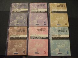 LIBRICINI DA LEGGERE - (2007 SUB WAY) - LA SERIE DAL N. 1 AL N. 13 - NUOVI E BEN CONSERVATI - Collections