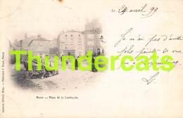 CPA 54 BRIEY PLACE DE LA LOMBARDIE  1899 !!  CARTE PRECURSEUR - Briey