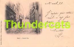 CPA 54 BRIEY GRANDE RUE 1899 !!! CARTE PRECURSEUR - Briey