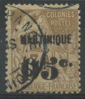 Martinique (1888) N 12 (o) - Martinique (1886-1947)