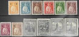 Madeira 1925-8   12 Diff MH   2016 Scott Value $8.95 - Madeira