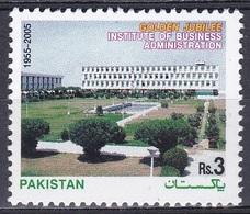 Pakistan 2005 Institute Wirtschaft Betriebswirtschaft Economy Architektur Bauwerke Gebäude Buildings, Mi. 1250 ** - Pakistan