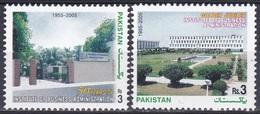 Pakistan 2005 Institute Wirtschaft Betriebswirtschaft Economy Architektur Bauwerke Gebäude Buildings, Mi. 1249-0 ** - Pakistan