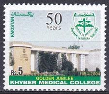 Pakistan 2004 Bildung Ausbildung Ecucation Schulen Scools College Medizin Medicine Gebäude Buildings, Mi. 1237 ** - Pakistan